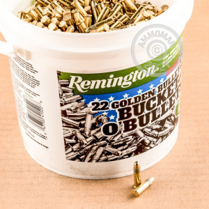 .22 Long Rifle ammo with copper plated hollow point bullets for sale at AmmoMan.com.