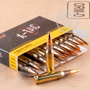 Image of 308 / 7.62x51 ammo by PMC that's ideal for training at the range.