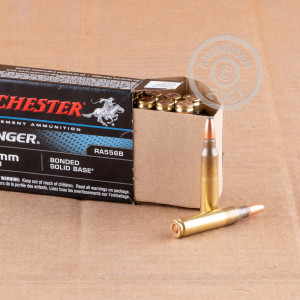 Image of 5.56X45 WINCHESTER RANGER 64 GRAIN BONDED SOLID BASE (20 ROUNDS)