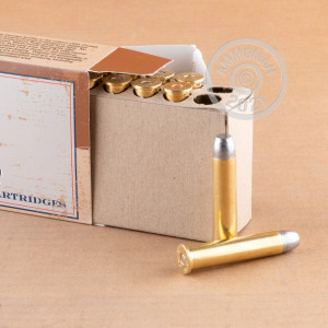 Photo detailing the 45-70 GOVERNMENT FIOCCHI 405 GRAIN LRN FP (200 ROUNDS) for sale at AmmoMan.com.