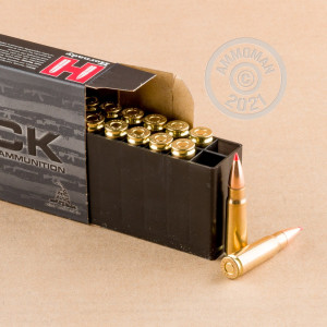 An image of 7.62 x 39 ammo made by Hornady at AmmoMan.com.