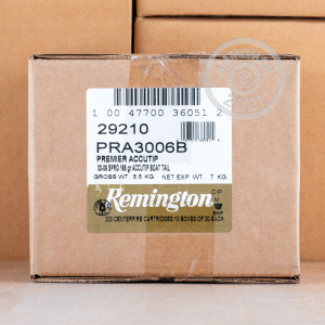 Photo of 30.06 Springfield Polymer Tipped ammo by Remington for sale.