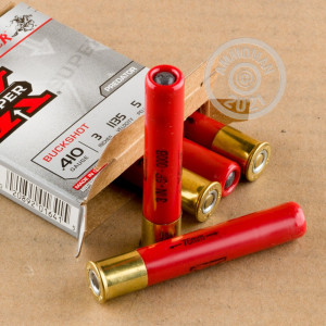 Great ammo for hunting varmint sized game, hunting or home defense, these Winchester rounds are for sale now at AmmoMan.com.