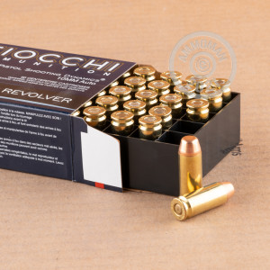 Photo of 10mm Full Metal Jacket Truncated Cone (FMJTC) ammo by Fiocchi for sale at AmmoMan.com.