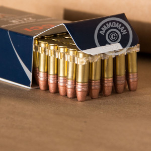 rounds of .22 Long Rifle ammo with segmented hollow point bullets made by CCI.