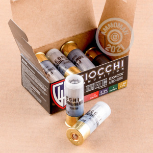 Photograph of Fiocchi 12 Gauge Rifled Slug for sale at AmmoMan.com
