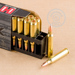 Image of the 5.56X45 HORNADY BLACK 62 GRAIN FMJ (20 ROUNDS) available at AmmoMan.com.