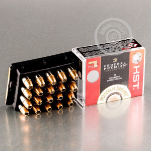 A photo of a box of Federal ammo in 9mm Luger.