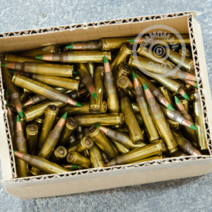 Image of the 5.56 NATO FEDERAL LAKE CITY M855 62 GRAIN FMJ (500 ROUNDS) available at AmmoMan.com.