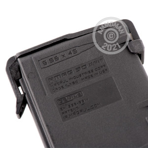 Image of the AR-15 MAGAZINE - 5.56/.223 - 30 ROUND MAGPUL PMAG GEN M3 BLACK WITH WINDOW (1 MAGAZINE) available at AmmoMan.com.