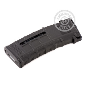 Photograph showing detail of AR-15 MAGAZINE - 5.56/.223 - 30 ROUND MAGPUL PMAG GEN M3 BLACK WITH WINDOW (1 MAGAZINE)