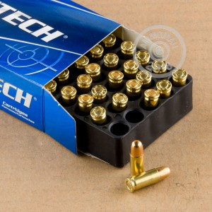 An image of .25 ACP ammo made by Magtech at AmmoMan.com.
