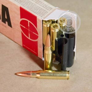 Image of 308 / 7.62x51 ammo by Silver State Armory that's ideal for precision shooting.