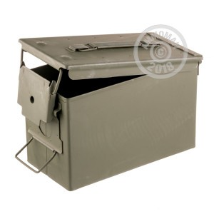 Image of NEW 50 CALIBER MIL-SPEC AMMO CAN (1 CAN)