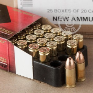 Photo of 9mm Luger FMJ ammo by Black Hills Ammunition for sale at AmmoMan.com.