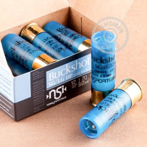 Great ammo for home protection, hunting or home defense, these NobelSport rounds are for sale now at AmmoMan.com.