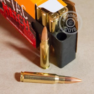 Image of bulk 308 / 7.62x51 rifle ammunition at AmmoMan.com that's perfect for precision shooting, training at the range.