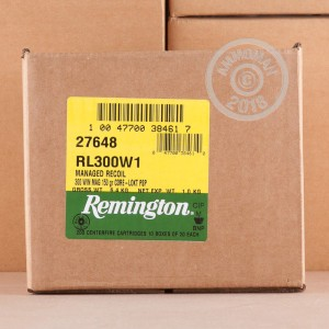 Photo of 300 Winchester Magnum Pointed Soft-Point (PSP) ammo by Remington for sale.