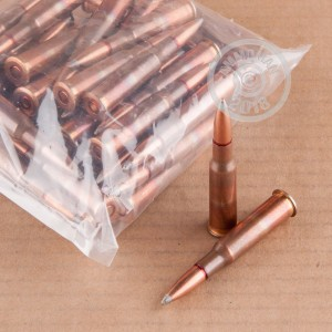 Image detailing the brass case on the Mixed ammunition.