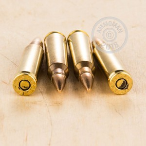 Photo of 5.56x45mm FMJ ammo by Magtech for sale.
