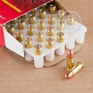 Image of Federal .25 ACP pistol ammunition.
