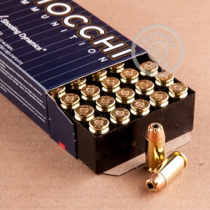 Photo of .40 Smith & Wesson JHP ammo by Fiocchi for sale at AmmoMan.com.