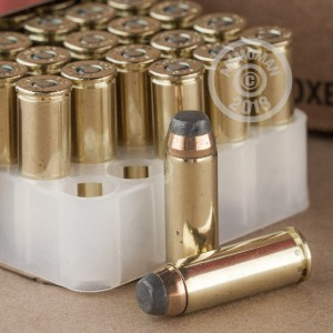 Image of .45 COLT ammo by Federal that's ideal for home protection.