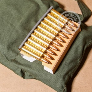 Image of bulk 223 Remington ammo by PMC that's ideal for training at the range.