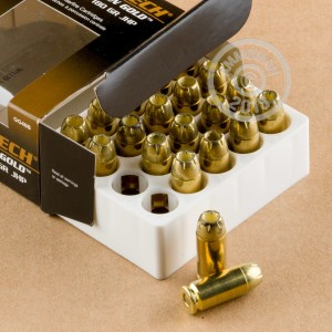 Photo of .40 Smith & Wesson JHP ammo by Magtech for sale at AmmoMan.com.