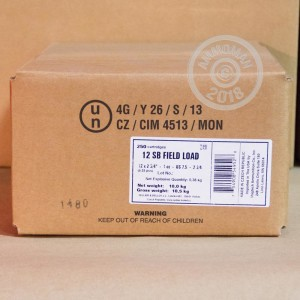 Great ammo for target shooting, upland bird hunting, these Sellier & Bellot rounds are for sale now at AmmoMan.com.