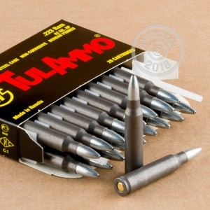 Photo of 223 Remington HP ammo by Tula Cartridge Works for sale.