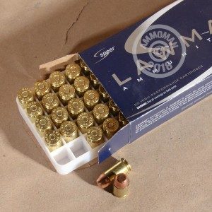 Photo of .45 GAP TMJ ammo by Speer for sale at AmmoMan.com.