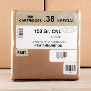 An image of 38 Special ammo made by Black Hills Ammunition at AmmoMan.com.