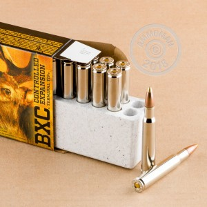 A photo of a box of Browning ammo in 30.06 Springfield.