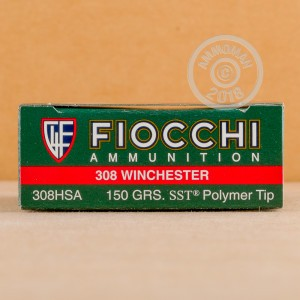 Photo of 308 / 7.62x51 SST ammo by Fiocchi for sale.