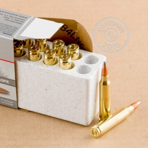 A photograph detailing the 223 Remington ammo with Power-Point (PP) bullets made by Winchester.