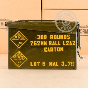 An image of bulk 308 / 7.62x51 ammo made by Military Surplus at AmmoMan.com.
