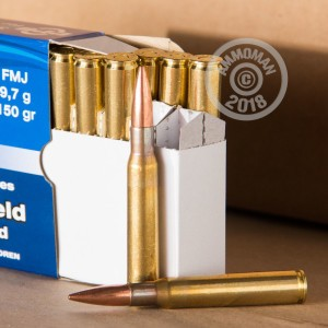 Image of 30.06 Springfield ammo by Prvi Partizan that's ideal for M1 Garand.