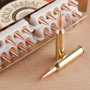 Image of 338 Lapua Magnum ammo by Federal that's ideal for precision shooting, training at the range.