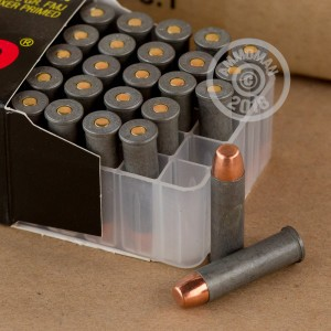An image of 357 Magnum ammo made by Tula Cartridge Works at AmmoMan.com.