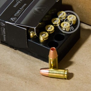 An image of 9mm Luger ammo made by PNW Arms at AmmoMan.com.