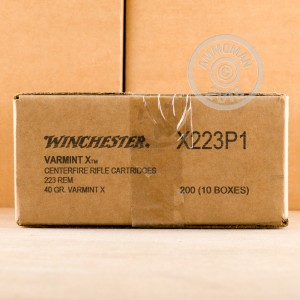 Photo of 223 Remington Polymer Tipped ammo by Winchester for sale.