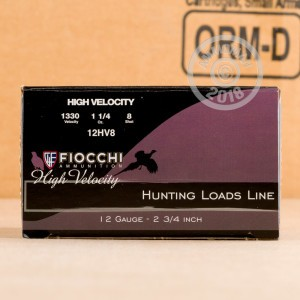 Great ammo for shooting clays, upland bird hunting, these Fiocchi rounds are for sale now at AmmoMan.com.