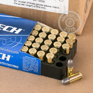 A photo of a box of Magtech ammo in .38 S/W.