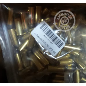 Image of DRS 44 Special pistol ammunition.