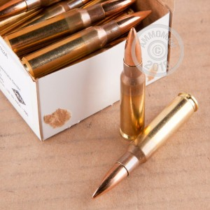Image of 308 / 7.62x51 ammo by Magtech that's ideal for training at the range.