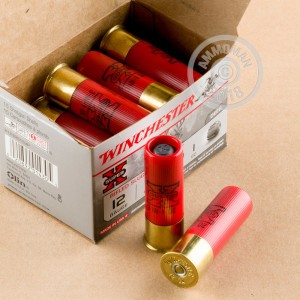 Photograph detailing the 1 ounce shotgun ammo for 12 Gauge shooters made by Winchester