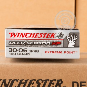 A photo of a box of Winchester ammo in 30.06 Springfield.
