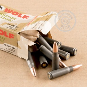 Photo of 7.62 x 39 HP ammo by Wolf for sale.