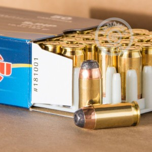 Photo of .45 Automatic semi-jacketed hollow-Point (SJHP) ammo by Prvi Partizan for sale at AmmoMan.com.